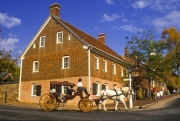 Carriage ride in Old Salem, NC
